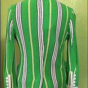 Juicy couture preppy striped blazer